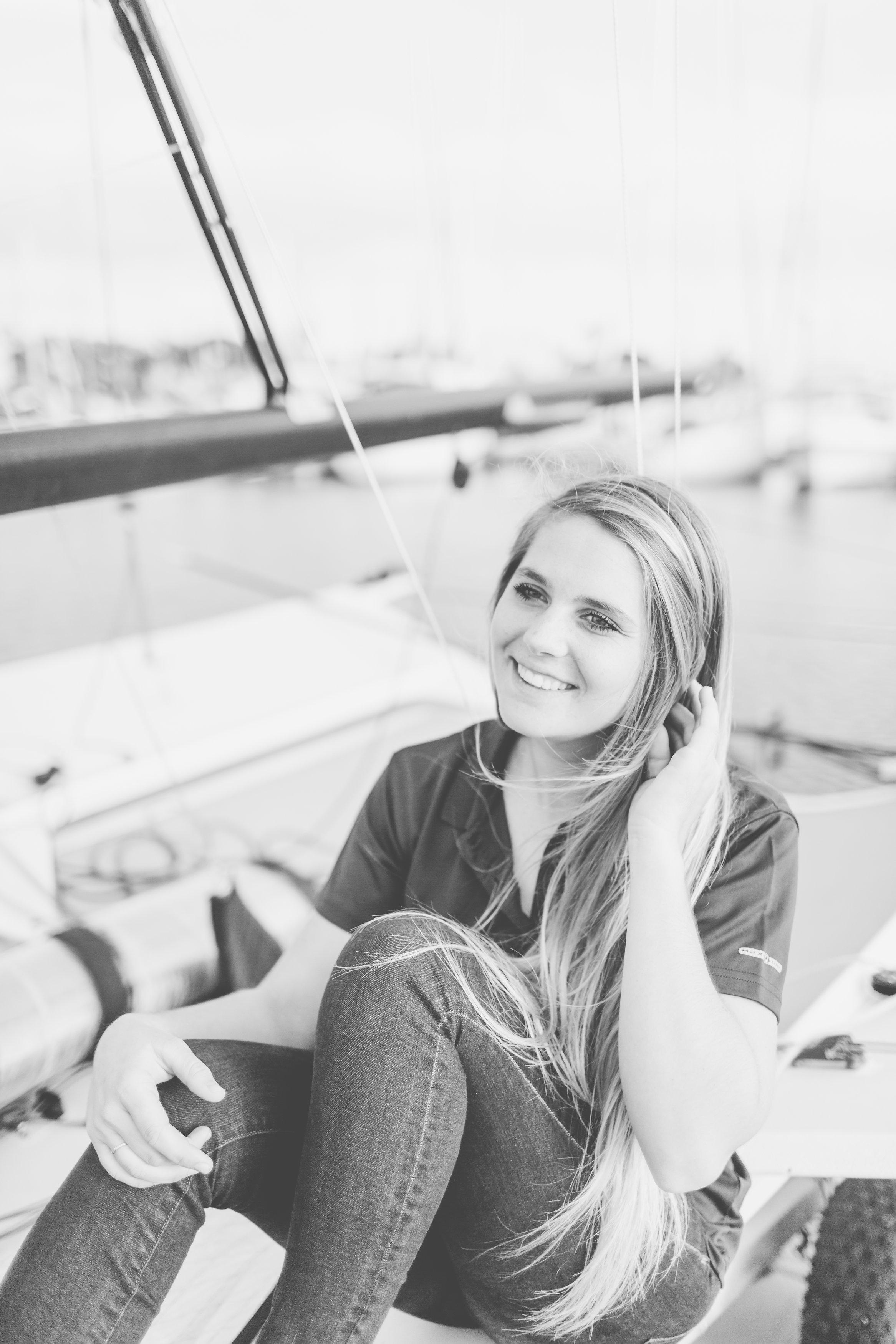 Paris Henken sailing